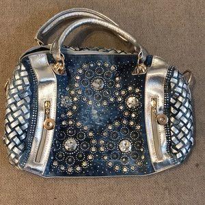 Handbags - Rhinestone Handbag/Purse